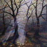 Morgens im Herbstwald
