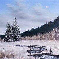 Winterlandschaft_Bruecke
